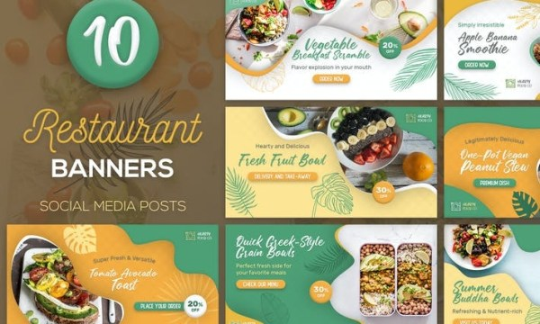 Food Facebook Banners CBCSVDK