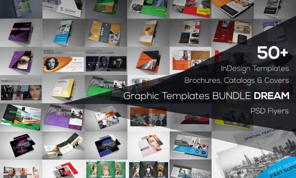 Graphic Templates Bundle Dream 3917088