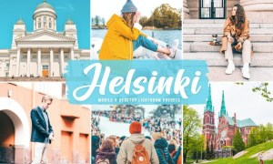 Helsinki Mobile & Desktop Lightroom Presets