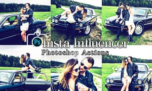 Influencer Photoshop Actions CDC8YQY