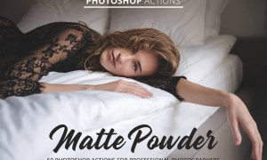Matte Powder Actions for Photoshop 4847029