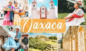Oaxaca Mobile & Desktop Lightroom Presets