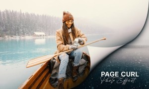 Page Curl Photo Effect