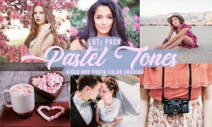Pastel Creamy LUTs for Video/Photo 5800281