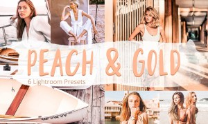 Peach & Gold - Lightroom Presets 5928057