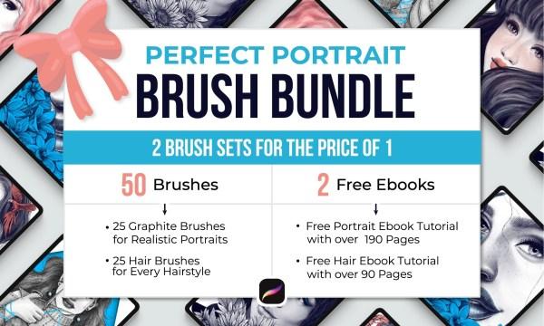 Perfect Portrait Brush Bundle 4383361