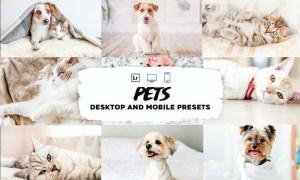 Pet Lightroom Presets