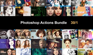 Photoshop Actions Bundle 30-1 5750510