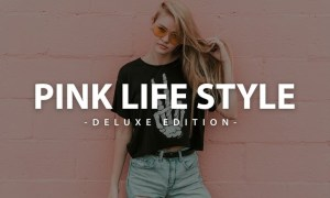 Pink Lifestyle Deluxe Edition | For Mobile and Des