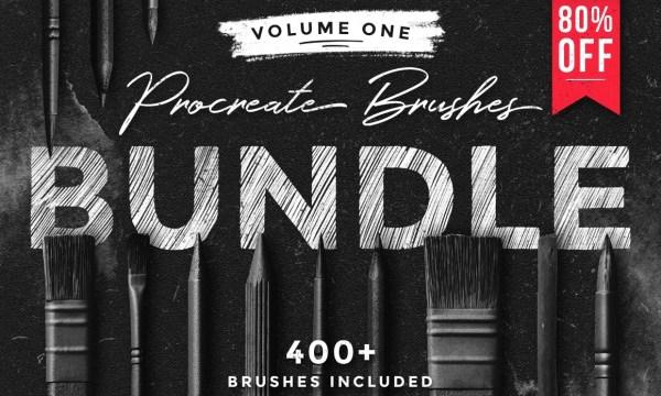 Procreate Brushes Bundle 1996355