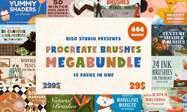 Procreate Brushes Megabundle 5177864