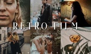 Retro Film LUTs for Video Editing 5917247
