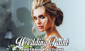 Wedding Painting Photoshop Action 5FM4B2G