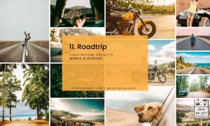 11. Roadtrip - Lightroom Presets