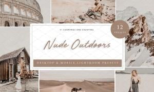 12 x Lightroom Presets, Nude Outdoor 5962675