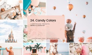 24. Candy Colors Presets
