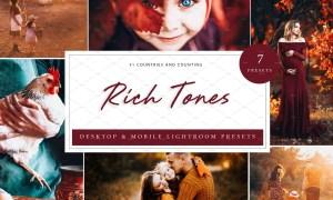 7 x Lightroom Presets, Rich Tones 5962684