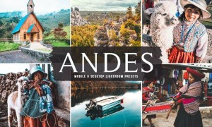 Andes Mobile & Desktop Lightroom Presets