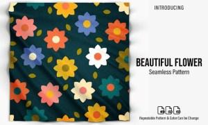 Beautiful Flower Pattern 9R44RJ7
