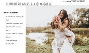 Bohemian Blogger Lightroom Presets 2400478