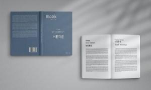 Book Mockup Hardcover 6L4RC33