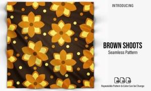 Brown Shoots Patterns 5X556TT