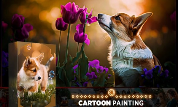 Cartoon Oil Photoshop Action