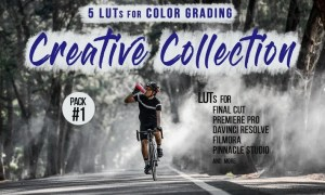 Creative LUTs Pack - Video color grading filters