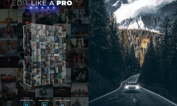 Edit Like A PRO 32th - Photoshop & Lightroom