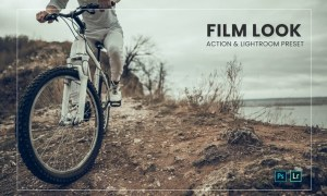 Film Look Effect Action & Lightroom Preset