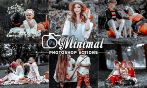 Minimal Photo Effects Actions