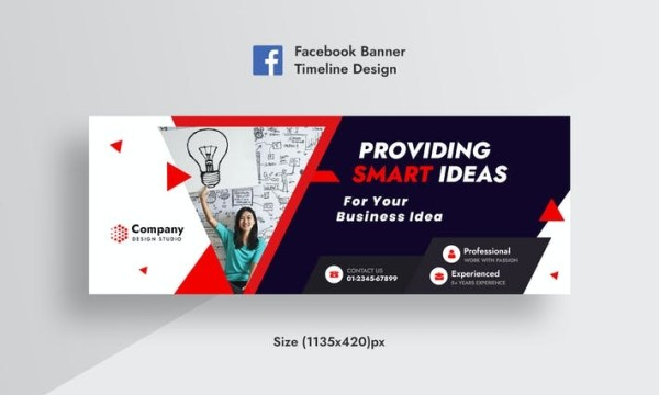 Promotional Corporate & Business Facebook Timeline KM945ZP