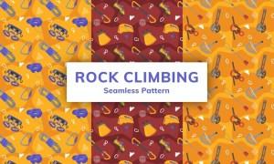 Rock Climbing Seamless Pattern 3HL2BXU