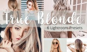 True Blonde - Lightroom Presets Pack 5923591