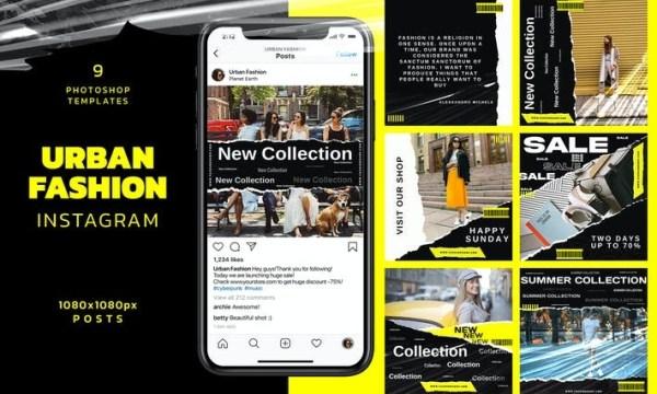 Urban Fashion Instagram Post TF589YY