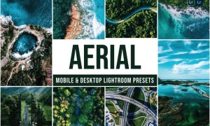 Aerial Mobile and Desktop Lightroom Presets