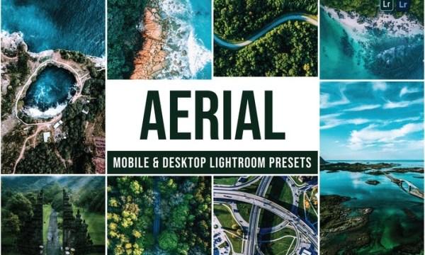 Aerial Mobile and Desktop Lightroom Presets