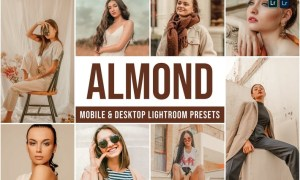Almond Mobile and Desktop Lightroom Presets