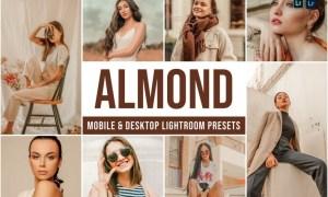 Almond Mobile and Desktop Lightroom Presets