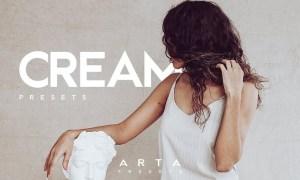 ARTA Cream Presets For Mobile and Desktop