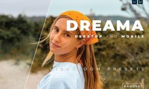 Dreama Desktop and Mobile Lightroom Preset