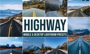 Highway Mobile and Desktop Lightroom Presets