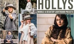 Hollys Mobile and Desktop Lightroom Presets