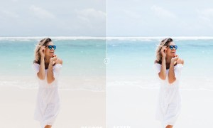 Inspired Blue Photoshop Action & Lightrom Presets
