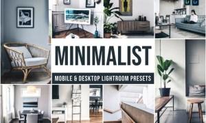 Minimalist Mobile and Desktop Lightroom Presets