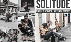 Solitude Mobile and Desktop Lightroom Presets