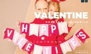 Valentine Desktop and Mobile Lightroom Preset