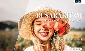 Busarakham Desktop and Mobile Lightroom Preset