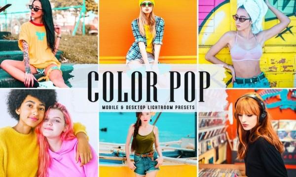Color Pop Mobile & Desktop Lightroom Presets