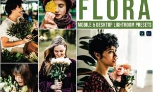 Flora Mobile and Desktop Lightroom Presets